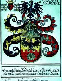 Wappen für Dr. Johannes Scheyring (von Lucas Cranach d. Ä., 1534)